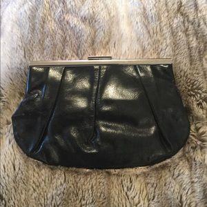 NWOT Banana Republic Leather Clutch